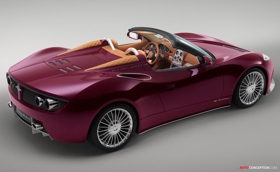 Spyker B6 Venator Spyder Unveiled at Pebble Beach