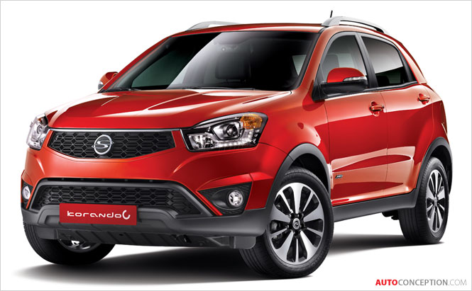 SsangYong Unveils New Korando C Design in Korea