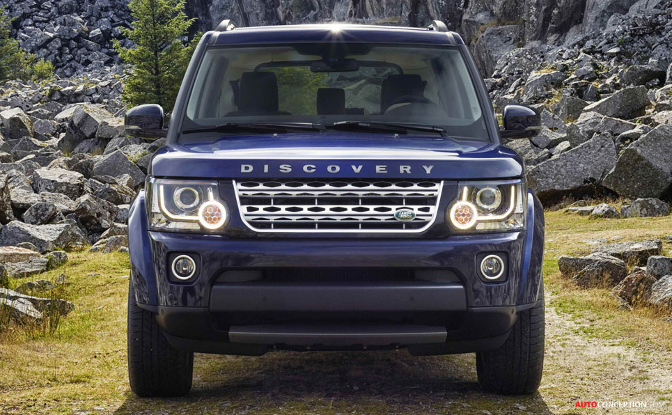 Land Rover Discovery Facelift Revealed