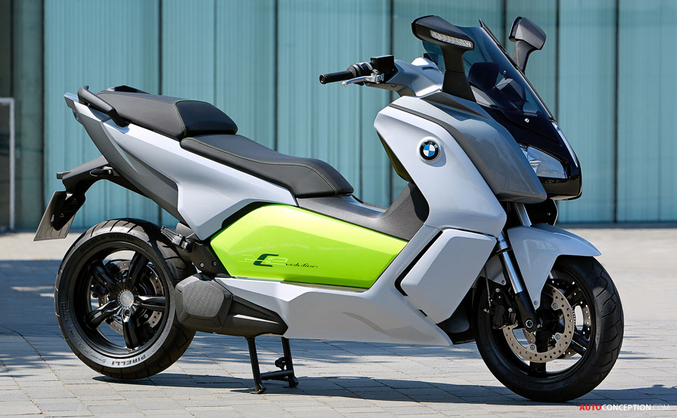 New All Electric Motorcycle From Bmw The C Evolution