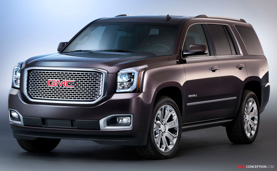 USA: Chevrolet, GMC Reveal All-New 2015 SUV Designs