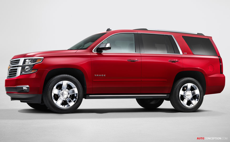 USA: Chevrolet, GMC Reveal All-New 2015 SUV Designs ...