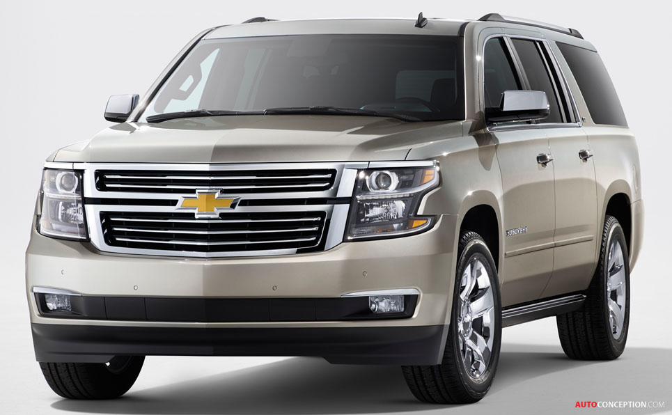 Suburban 9 Seats >> USA: Chevrolet, GMC Reveal All-New 2015 SUV Designs - AutoConception.com