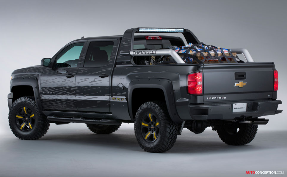Chevrolet Reveals 'Firefighter' and 'Black Ops' Pick Up Concepts