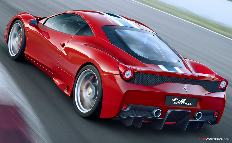 Ferrari 458 Speciale Technical Spec Revealed