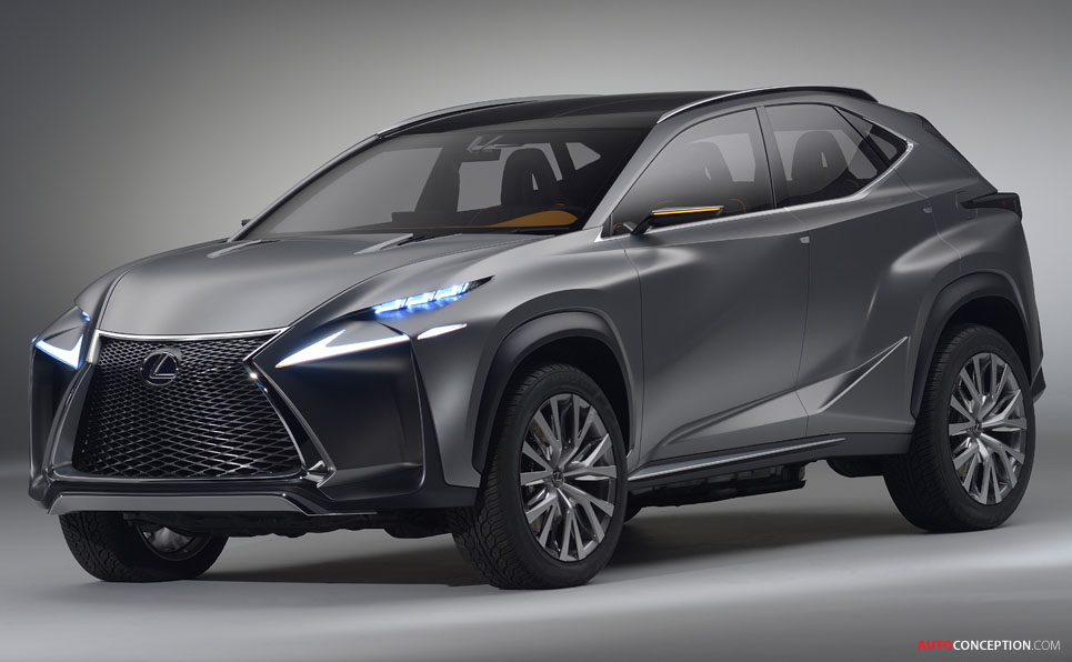 lexus new small suv lf nx autos post. Black Bedroom Furniture Sets. Home Design Ideas