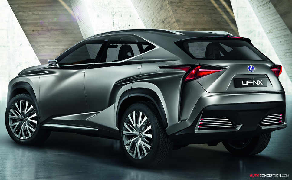 Lexus LF-NX Crossover Concept to Debut at Frankfurt