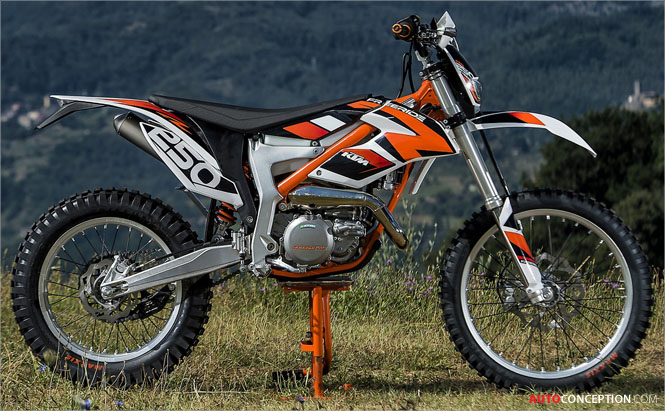 New Two-Stroke: KTM Launches All-New FREERIDE 250 R