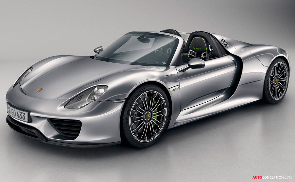 porsche 918 spyder hybrid debuts in frankfurt. Black Bedroom Furniture Sets. Home Design Ideas