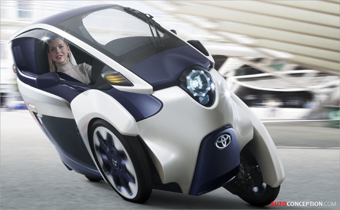 Toyota-i-Road-Car-Design-joins-Ha-mo-urban-transport-system-in-Toyota-City