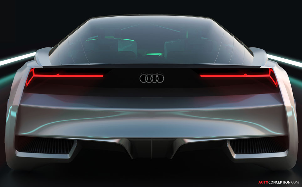 VIDEO: Audi's Science Fiction Concept Car Premieres in LA
