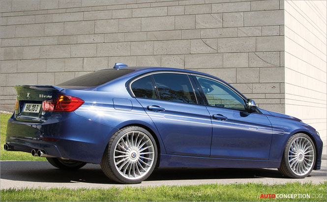 ALPINA Launches World's Fastest Diesel Production Car ...