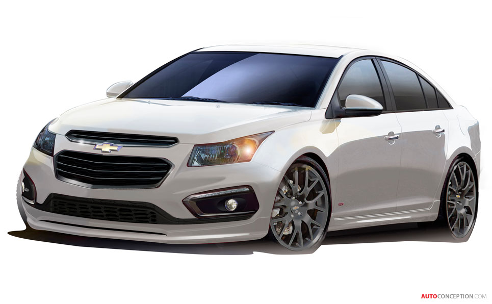 Chevrolet Previews SEMA Concept Designs