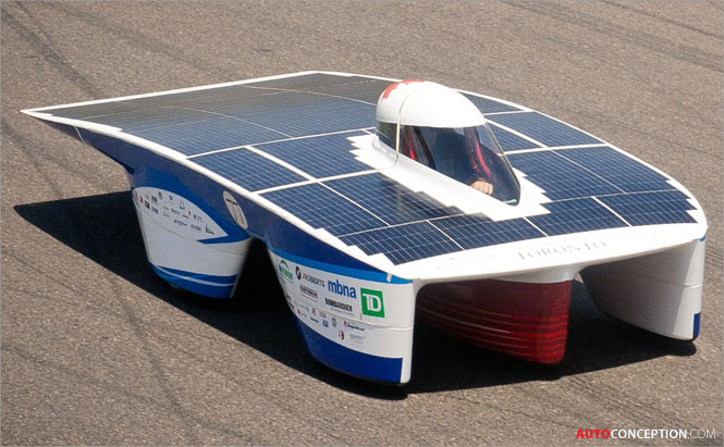 3D CAD Technology Enabled Creation of Solar-Electric Racing Vehicle in 13 Months