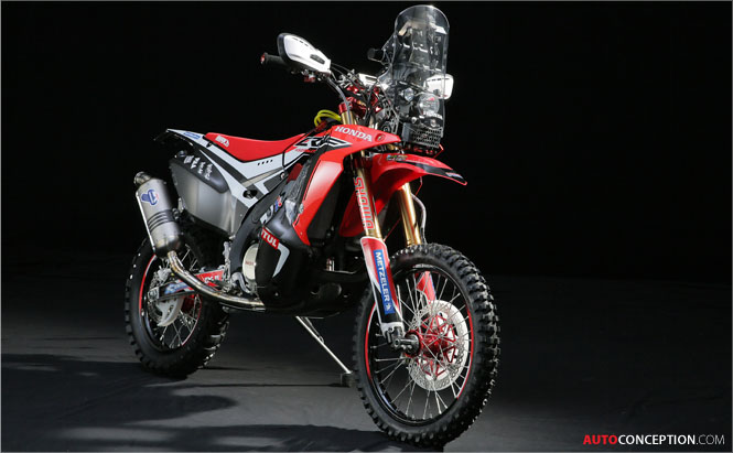 Honda Reveals 2014 Dakar Rally Model – the New CRF450 RALLY