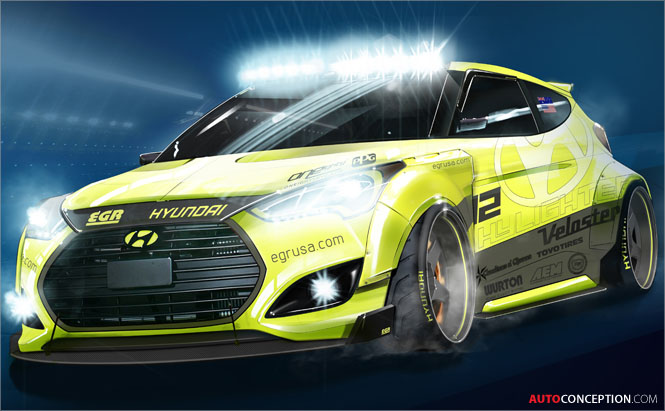 Hyundai-Veloster-Turbo-EGR-Group-Yellowcake-Bisimoto-Genesis-Coupe-SEMA-2013-Concept-Designs-4