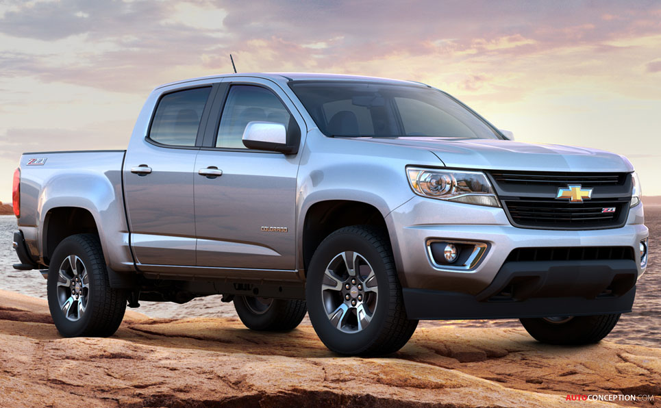 2015 chevy colorado mid size pickup to offer diesel autos weblog. Black Bedroom Furniture Sets. Home Design Ideas