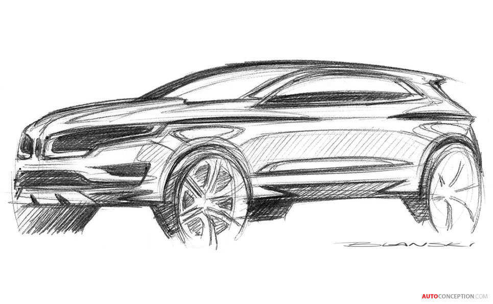 all-new lincoln mkc suv unveiled