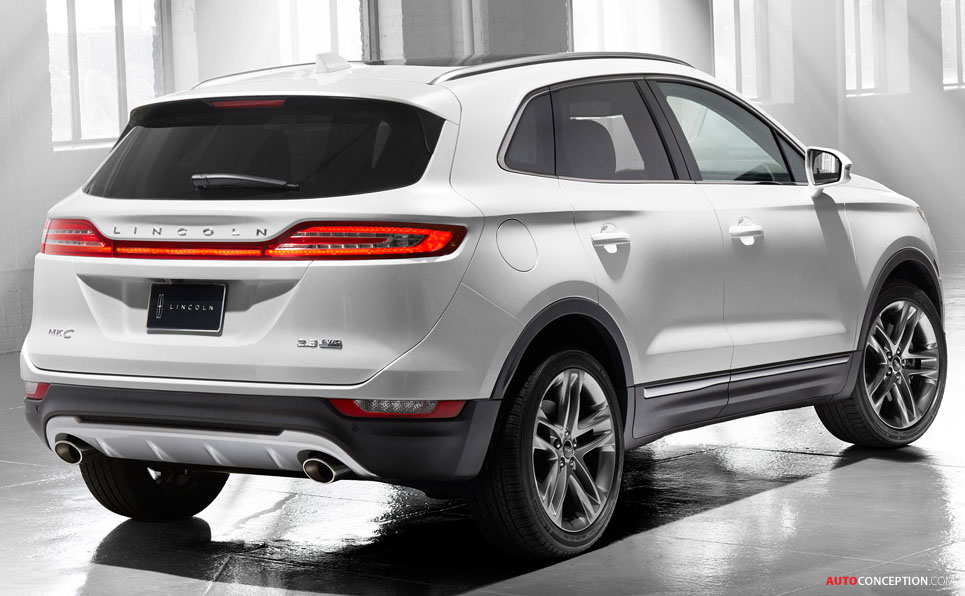 all new lincoln mkc suv unveiled. Black Bedroom Furniture Sets. Home Design Ideas