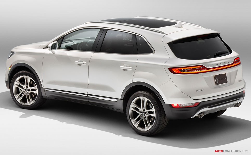 All New Lincoln Mkc Suv Unveiled Autoconception Com