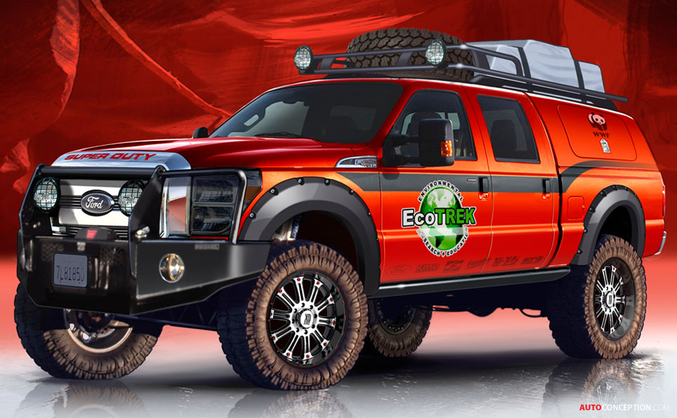 Customised Ford Pickup Trucks Join List Of 2013 Sema Show