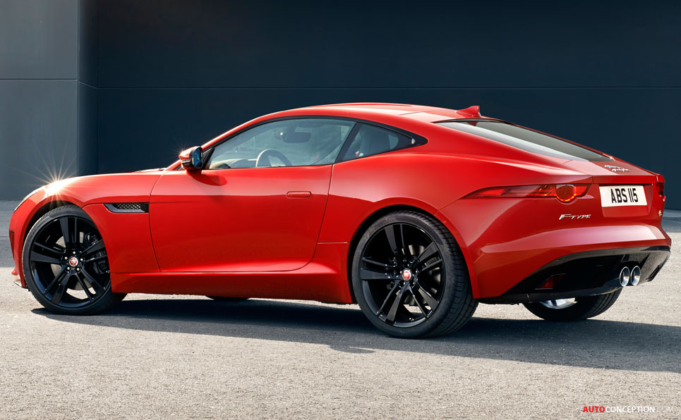 LA Auto Show 2013: Jaguar F-TYPE R Coupe Revealed
