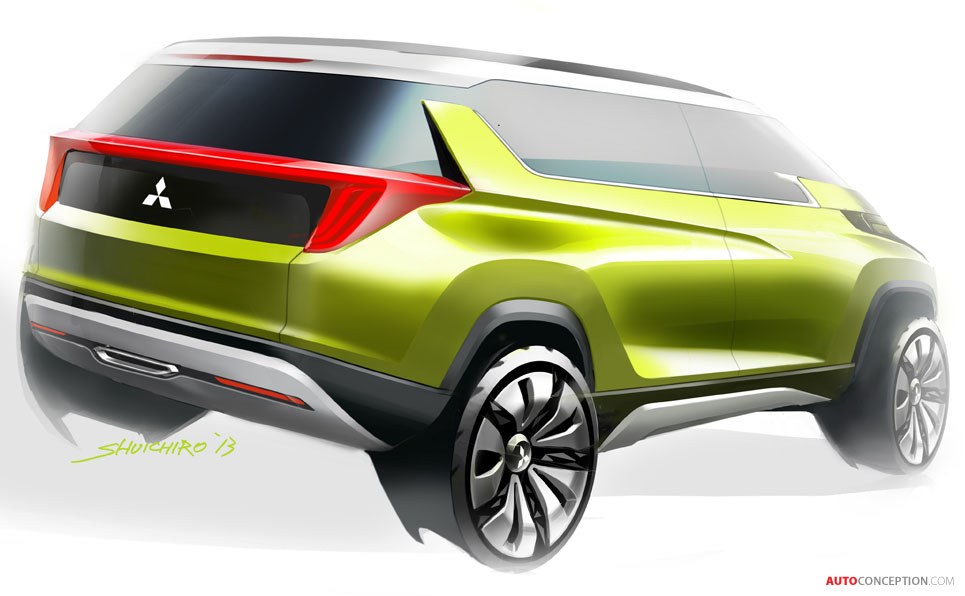 Mitsubishi Reveals New SUV and MPV Concepts – Latest Renderings - AutoConception.com