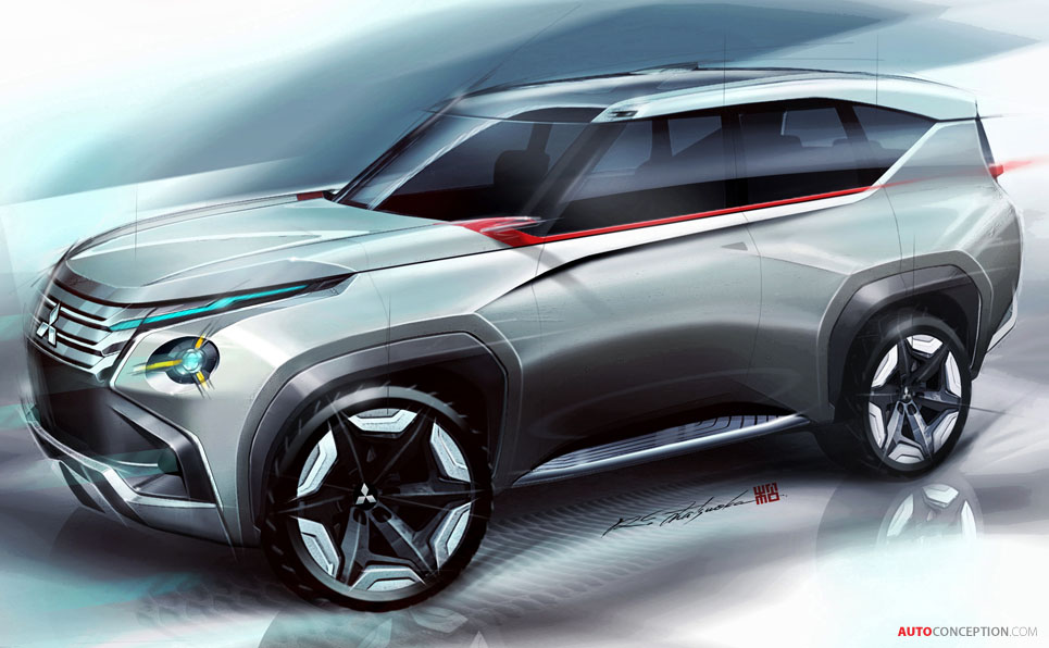 Mitsubishi Reveals New Suv And Mpv Concepts Latest