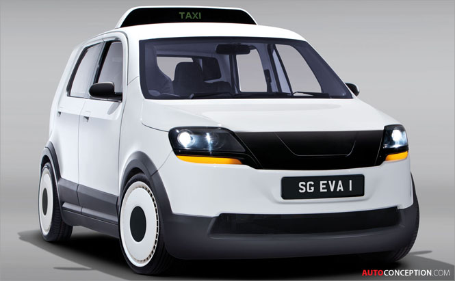 TUM CREATE Showcases Electric Taxi Design