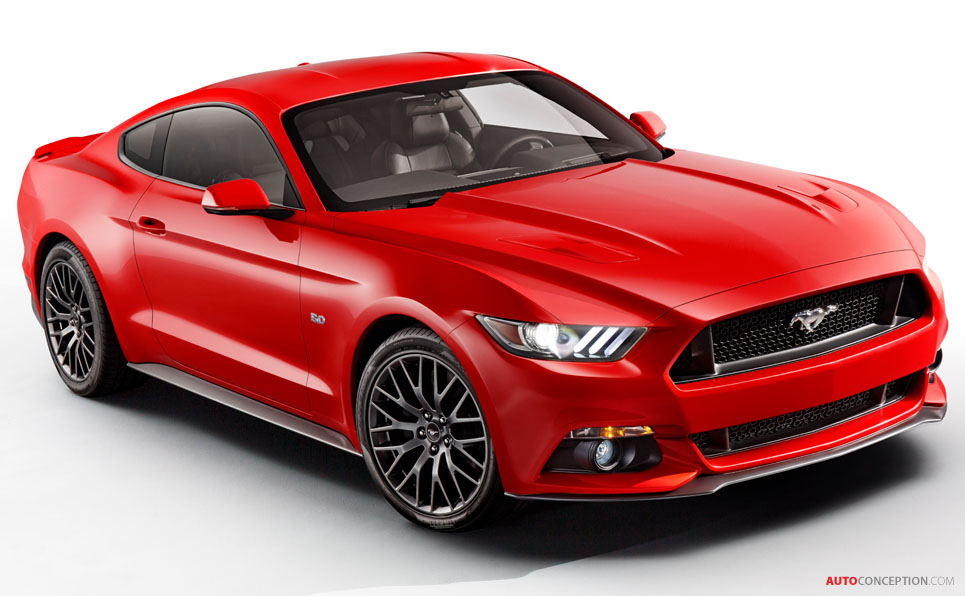 Ford Reveals New Mustang Design