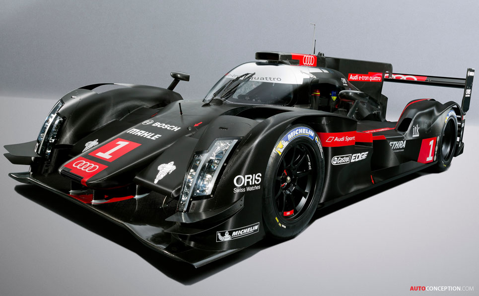 Audi Reveals Design of New R18 e-tron Quattro Race Car