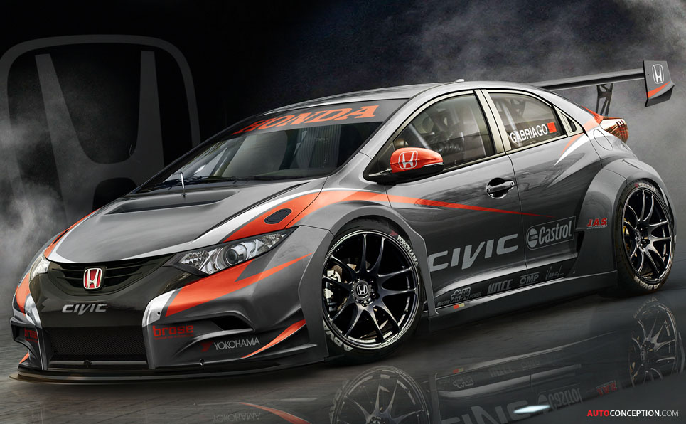 Honda Previews 2014 WTCC Civic