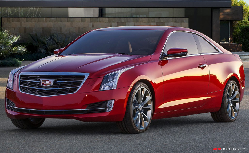 cadillac introduces 2015 ats coupe. Black Bedroom Furniture Sets. Home Design Ideas