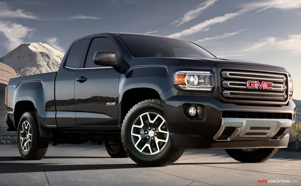 All-New 2015 GMC Canyon Truck Revealed - AutoConception.com