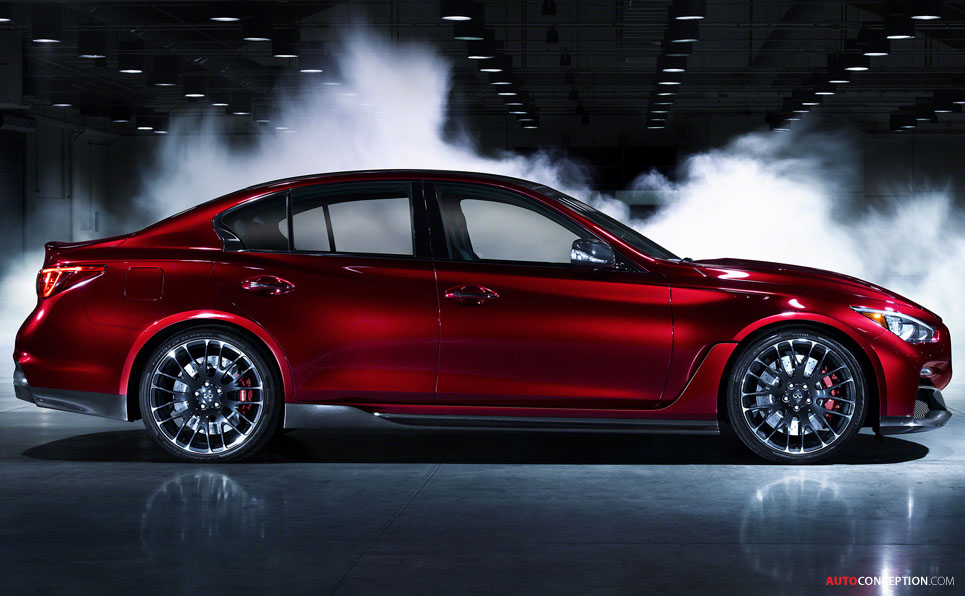 Infiniti Reveals F1-Inspired Q50 'Eau Rouge' Concept