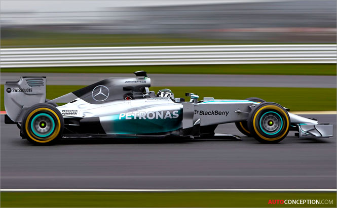 Mercedes Amg Petronas Formula One F W Car Design