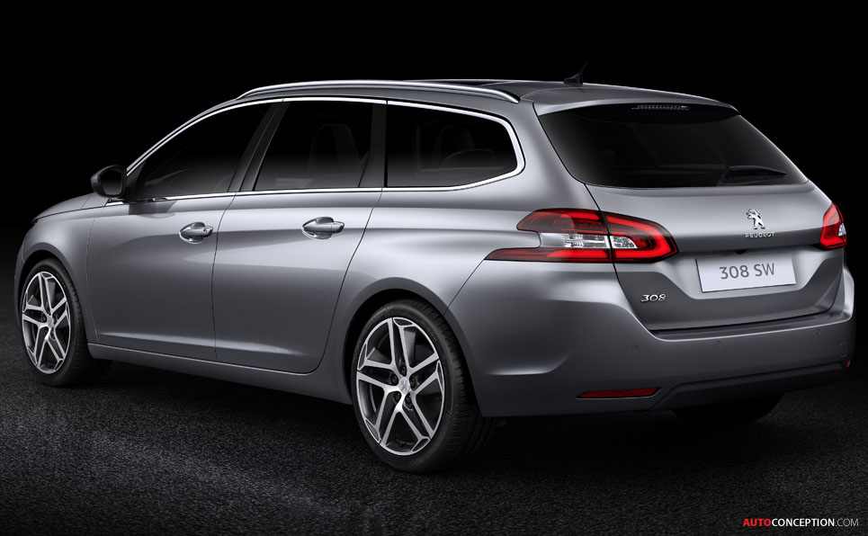 New Peugeot 308 SW Estate Unveiled