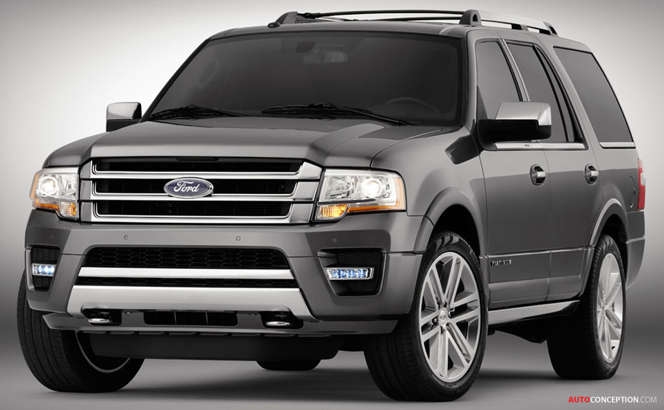Usa Ford Reveals  Expedition Suv