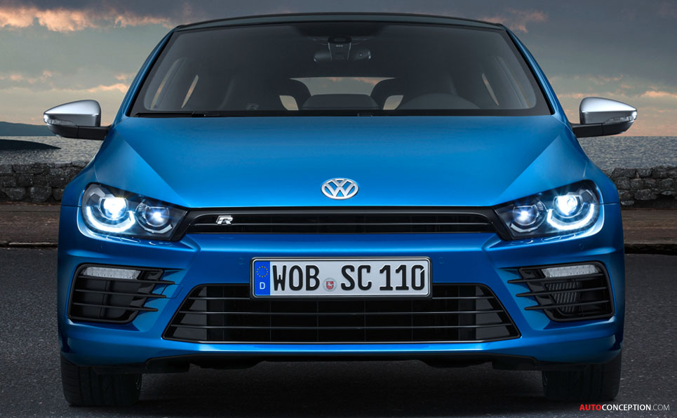 Volkswagen Scirocco Gets Design Facelift
