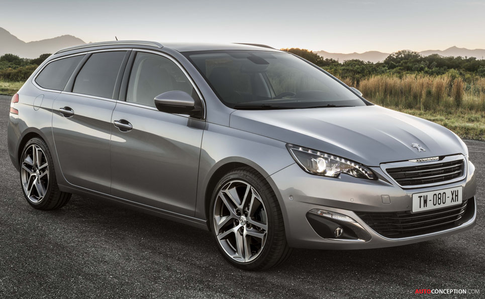 new peugeot 308 sw estate ready for geneva show. Black Bedroom Furniture Sets. Home Design Ideas