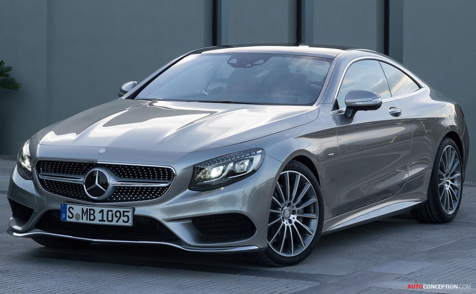 New Mercedes S-Class Coupe Officially Revealed