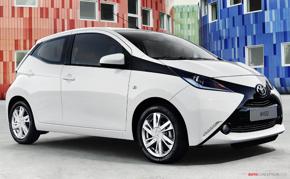 new toyota aygo launched in geneva   autoconception