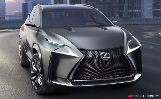 Lexus to Reveal New NX Crossover at Beijing Motor Show