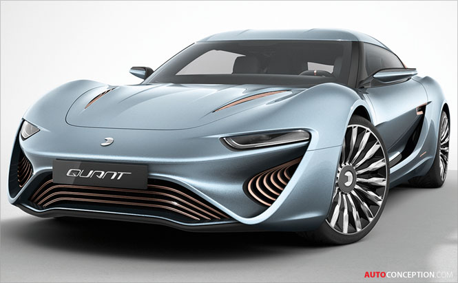 QUANT e-Sportlimousine Shows Off Advanced Battery Technology