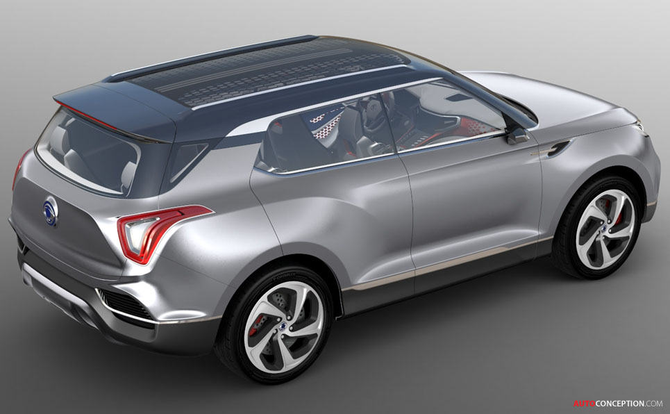 New XLV Concept Points to Future SsangYong Design Language