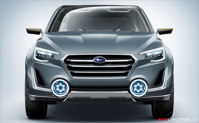 Subaru VIZIV-2 Concept Hints at Future Production SUV