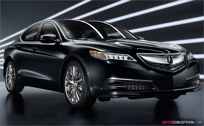 Production-Ready Acura TLX Unveiled