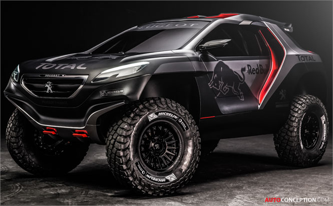 Peugeot Reveals New Dakar Rally Car Design