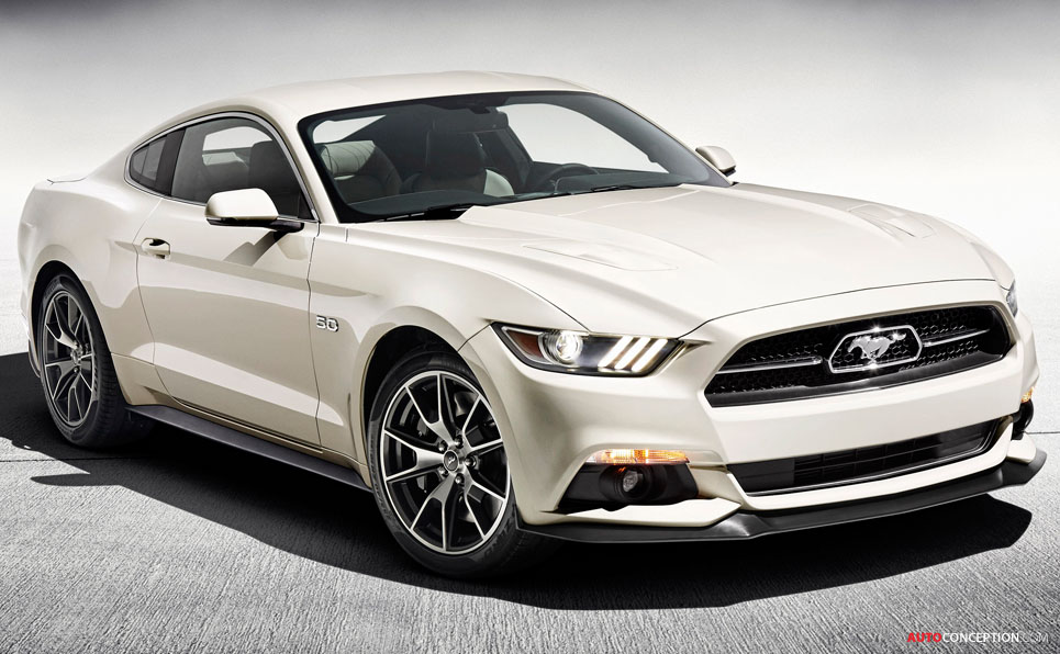 limited edition 50th anniversary ford mustang revealed. Cars Review. Best American Auto & Cars Review