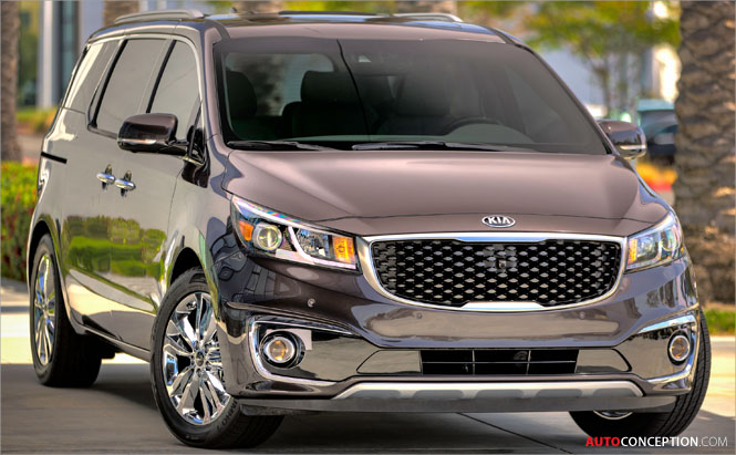 New Kia Sedona Revealed Ahead of New York Debut